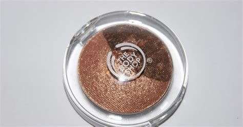 the eye is the l of the body the body shop baked eye colour in copper review the