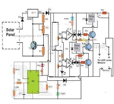 Lu Emergency 40 Watt circuit diagram of led light circuit and