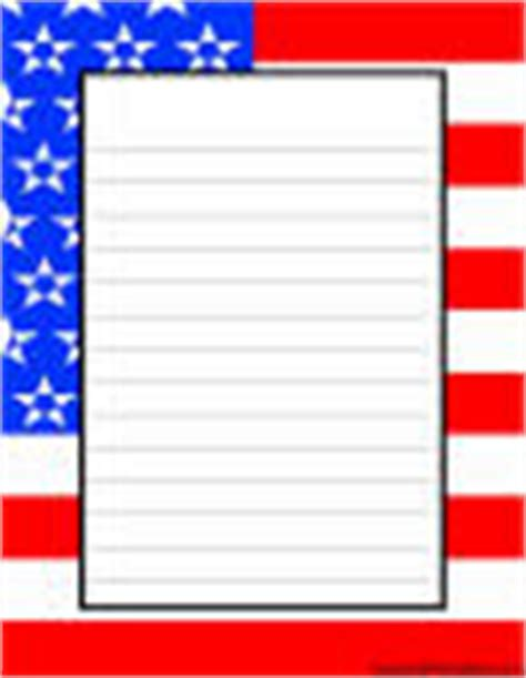 printable flag stationery kid printables printable stationery