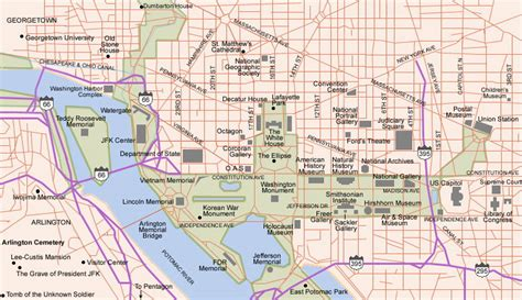 washington dc city layout map top 5 american cities for block after block of continuous