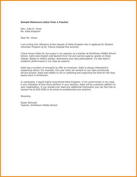 reference letter template for volunteer 12 letter of recommendation for a volunteer student