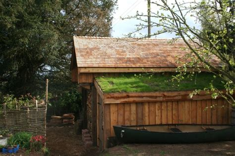 Shed Roof Timber by The Wood Shed Copper Beech Garden Design Hereford