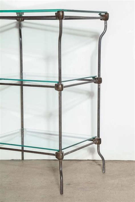 etagere bar edwardian three tier iron etagere bar with three