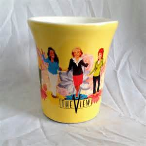 ABC The View TV Show Coffee Mug Daytime Television Walters 12 14 oz C