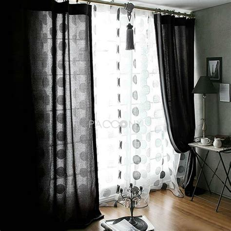 Black Linen Curtains 17 Best Images About Cartain On Window Treatments Curtains Drapes And Ceiling