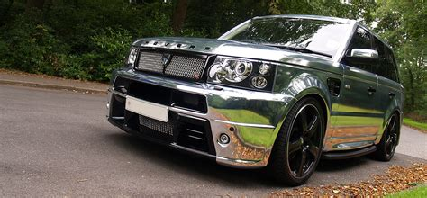 chrome land rover land rover range rover sport year 2005 09 exterior