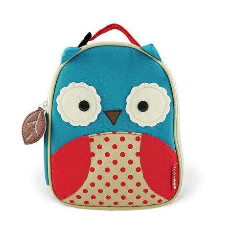Skiphop Zoo Lunchies Owl Tas Anak by Skip Hop Zoo Owl Lunch Bag