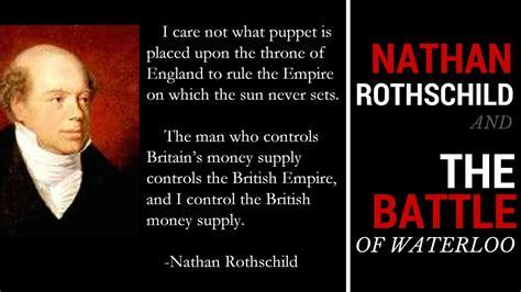 mayer illuminati nathan rothschild and the battle of waterloo