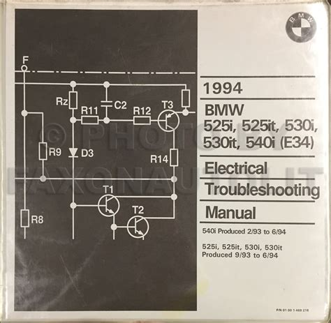 repair manuals bmw 525i 525it 535i m5 1993 electrical troubleshooting manual 1989 1995 bmw 525i 535i 540i bentley repair shop manual