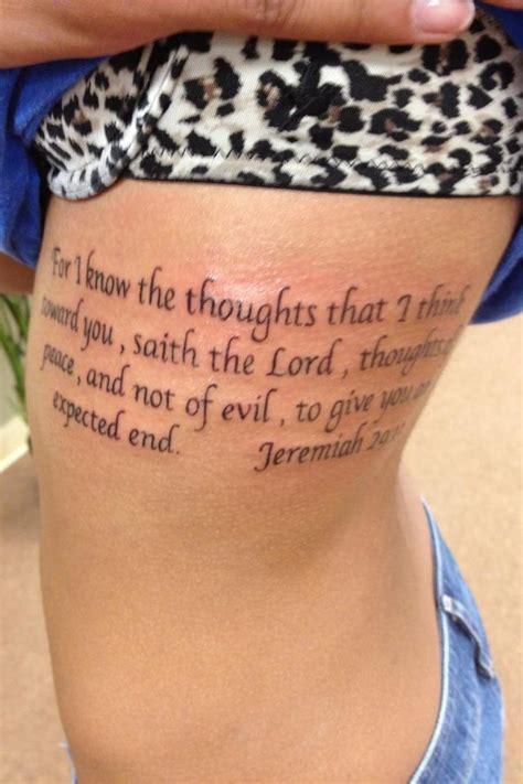 jeremiah 29 11 tattoo jeremiah 29 11 jeremiah