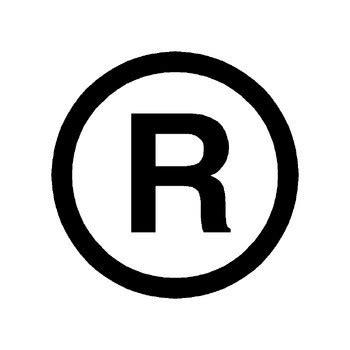 trade symbol registered trademark symbol vector clipart best