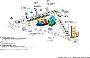 Directions To Airport Terminal Gate Maps