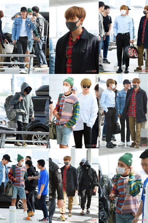 Celana Jin Bts Melorot berangkat ke jakarta seperti ini gaya kece para member bts kabar berita artikel