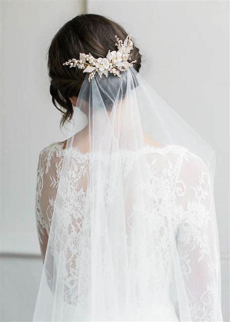 Wedding Hair With Veil by 1000 Ideas About Veil On Bridal Veils