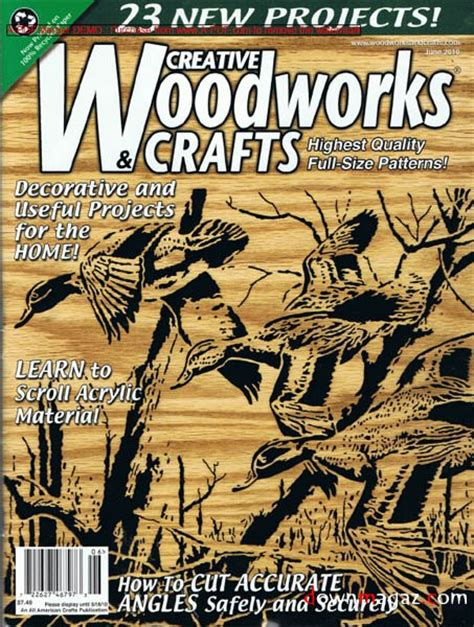 Creative Woodworks Crafts June 2010 187 Pdf