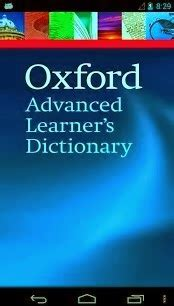 oxford dictionary offline apk android free free oxford advanced learner s dictionary oald for android apk with offline audio