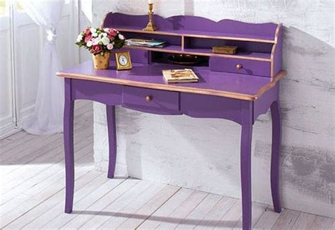 A Purple Desk Office Library Book Nook Pinterest Purple Desk