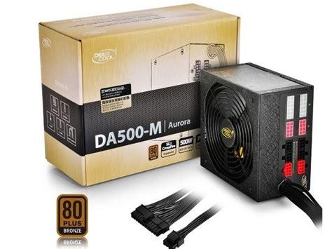 Deepcool Da Series Da700 700w 80 Plus Bronze Psu deepcool announces the da700 and da500 m power supplies techpowerup
