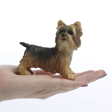 small yorkie dogs small yorkie figurine table and shelf sitters home decor
