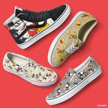 Vans Disney the disney and vans collection