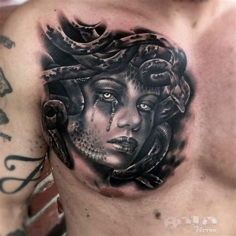 medusa head tattoo 35 bewitching medusa designs meaning