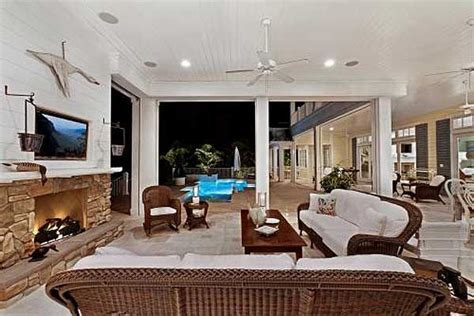 Southern Living Kitchen Ideas plan 66312we southern luxury outdoor spaces coffered
