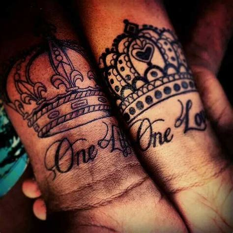 tattoo and queen 40 king queen tattoos that will instantly make your