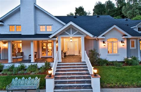 surprising front porches on ranch homes 11 designs for
