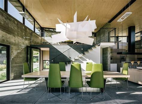 Esszimmer Le Hohe Decke by Salle 224 Manger Moderne 112 Id 233 Es D Am 233 Nagement R 233 Ussi
