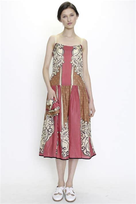 Gamis Fashion Elegan dress batik modern terbaru 2017 cantik anggun dan