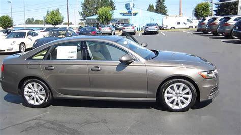 Audi Plätz by 2014 Audi A6 Dakota Gray Stock 109423