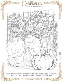 fairy godmother coloring page disney family