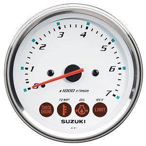 Suzuki Gauges Suzuki Outboard Parts 4 Quot Multifunction Tachometer Monitor