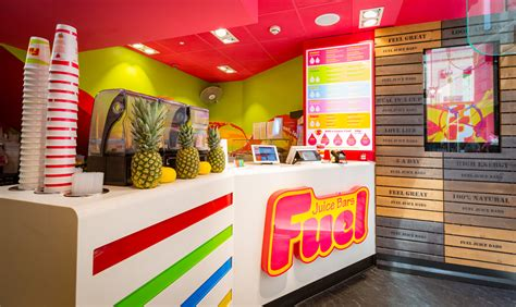 Interior Decoration Of Home by Fuel Juice Bar Liverpool One