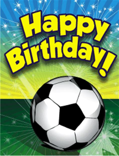 printable birthday cards soccer soccer small birthday card