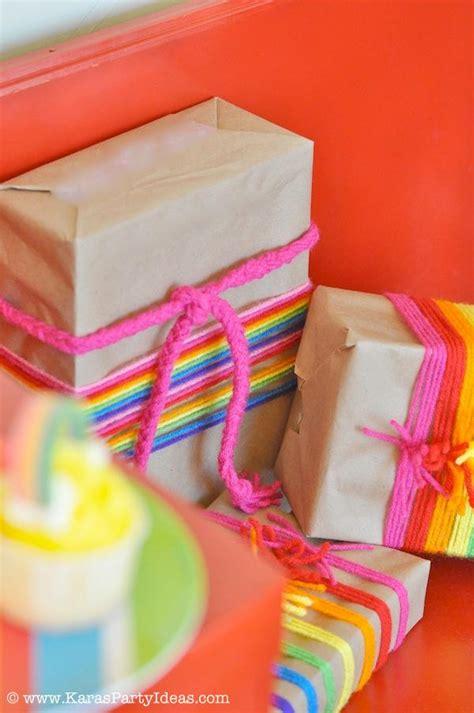 rainbow themed birthday return gifts kara s party ideas rainbow themed birthday party kara s