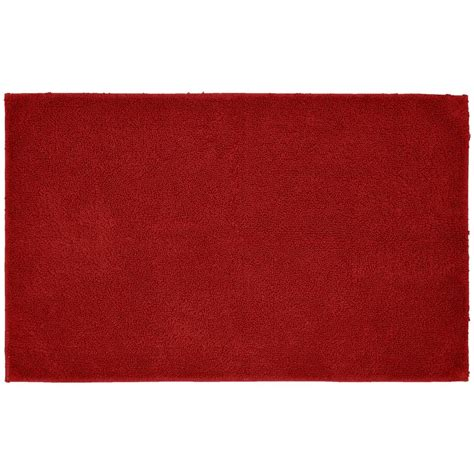 Accent Rugs For Bathroom Garland Rug Cotton Chili Pepper 24 In X 40 In Washable Bathroom Accent Rug Que 2440 04