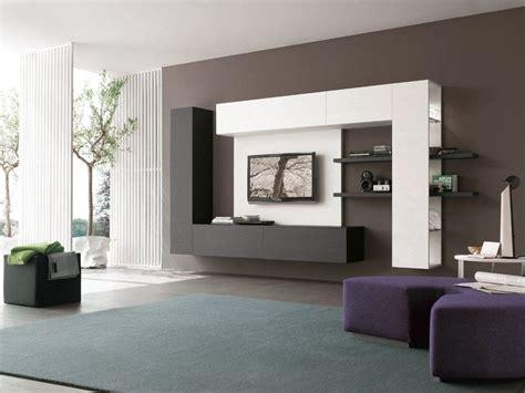 impressive contemporary tv wall unit designs