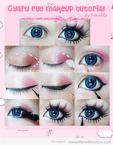 imagenes de maquillaje kawaii kawaii en jap 243 n maquillaje de ojos estilo japon 233 s paso a
