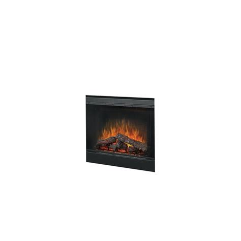 Fireplace Insert Trim Kit by Dimplex Bfglass39blk 39 Quot Single Pane Terproof Glass