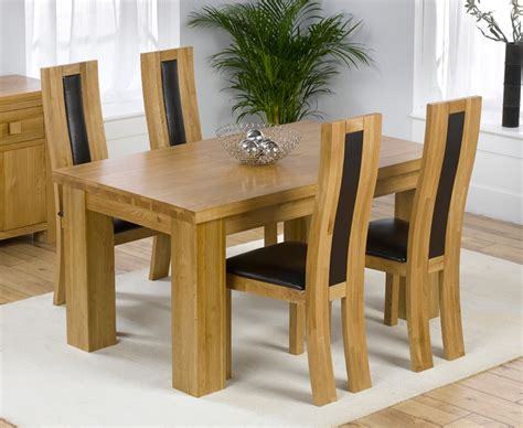Solid Oak Dining Table And Chairs Marceladick Com Dining Room Furniture Oak