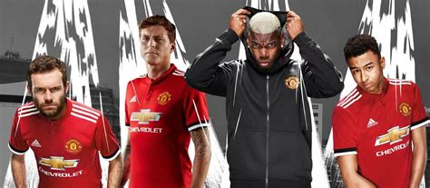 manchester united official 2017 1785492217 official manchester united release 2017 18 home kit by adidas