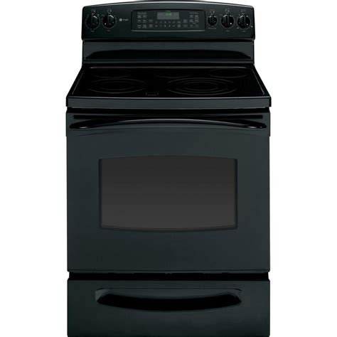ge profile 5 3 cu ft electric range with self cleaning