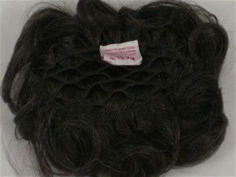 human hair gray wiglet 100 human hair pull thru wiglet filler enhancer piece w