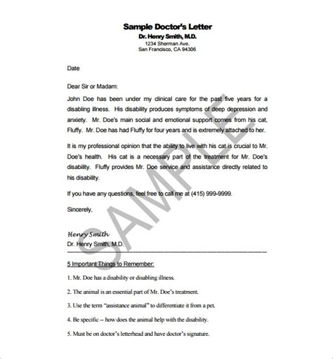 doctors letters templates sle disability letter from doctor all about letter