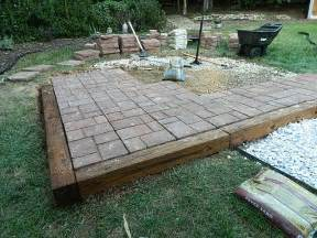 How To Patio Pavers Patio How To Install Paver Patio Home Interior Design