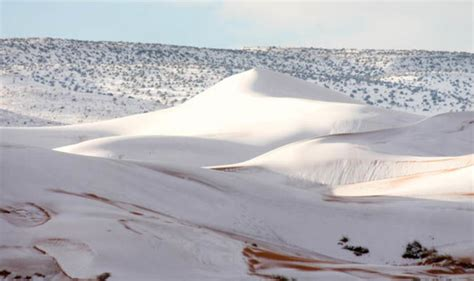snowfall in sahara desert sahara desert covered in snow pictures show ain sefra covered in 15 inches of snow world