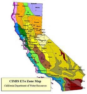 california crops map california map