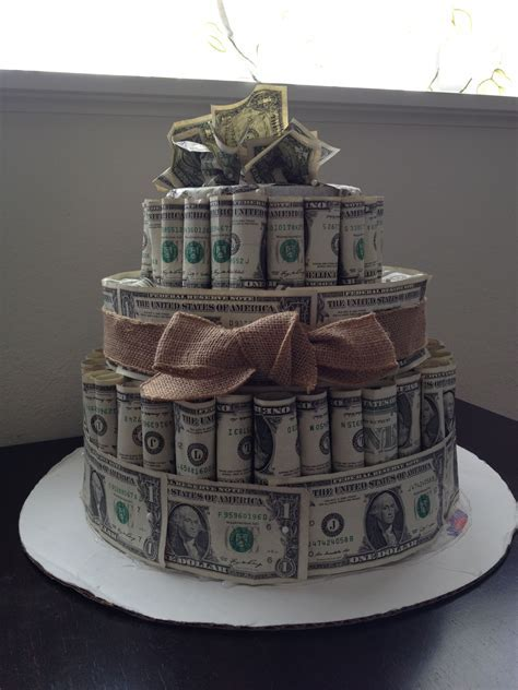 Wedding shower cake! Best gift ever. ~ GV TIP: use as