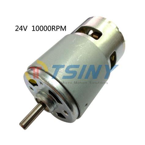 Jual Brushed Dc Motor aliexpress buy dc motor high torque 775 24v 10000rpm electric dc brushed reversible high
